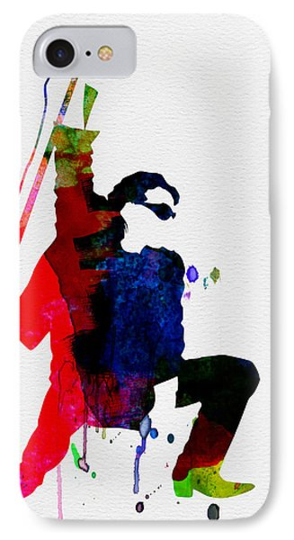 Bono Watercolor IPhone Case by Naxart Studio
