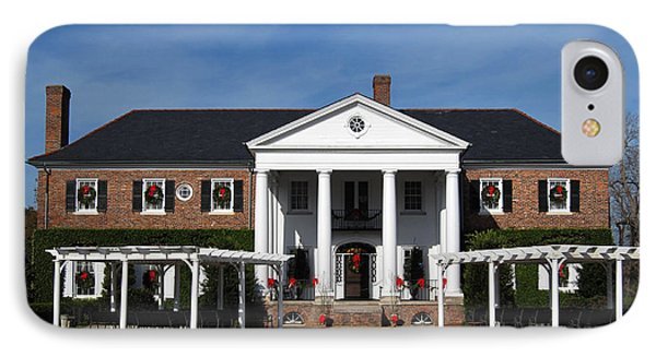 Boone Hall Plantation Charleston Sc Phone Case by Susanne Van Hulst