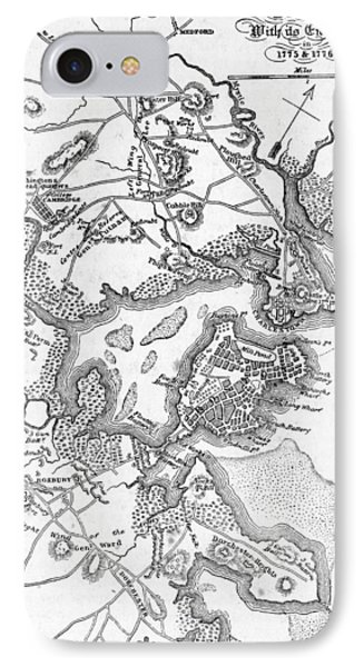 Boston And Its Environs In 1775 And 1776 IPhone Case by American School