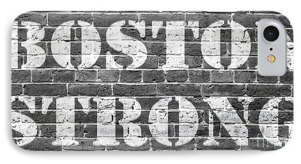 Boston Strong IPhone Case by Edward Fielding