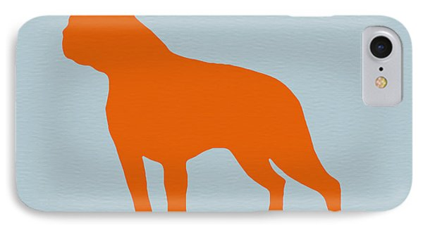 Boston Terrier Orange IPhone Case by Naxart Studio