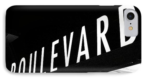 Boulevard Lights Up The Night Phone Case by Angie Rayfield