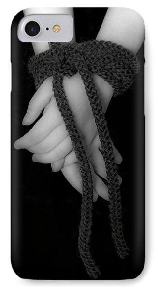 Bound Hands Phone Case by Joana Kruse