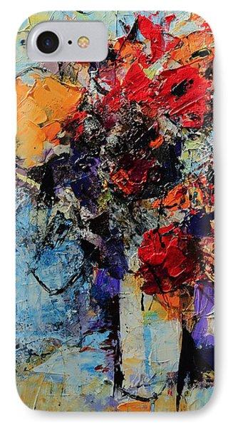 Bouquet De Couleurs IPhone Case by Elise Palmigiani