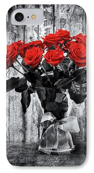 Bouquet Of Roses IPhone Case by Wim Lanclus