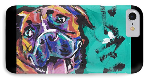Boxer Luv IPhone Case by Lea S