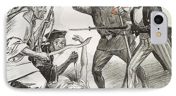 Boxer Rebellion Cartoon Phone Case by Granger