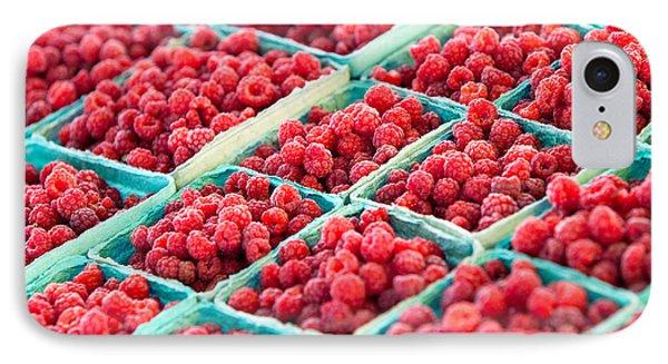 Boxes Of Raspberries IPhone Case by Todd Klassy