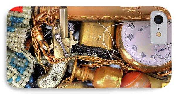 Boyhood Treasures 2 Phone Case by Lawrence Christopher