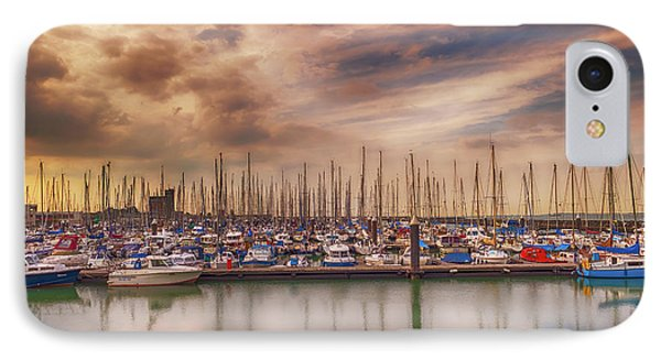 Breskens Marina IPhone Case by Wim Lanclus