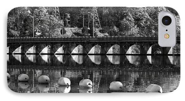 Bridge Reflection Phone Case by Karol Livote