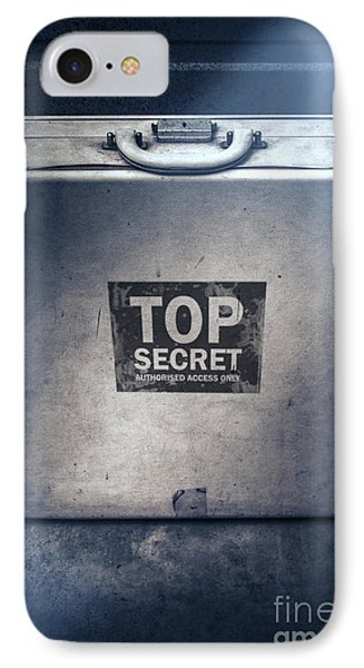 Brief Case Of Top Secret Espionage IPhone Case by Jorgo Photography - Wall Art Gallery