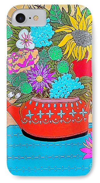 Bright Bouquet IPhone Case by Amy Sorrell