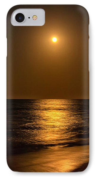 Bright Moon Rising IPhone Case by John M Bailey