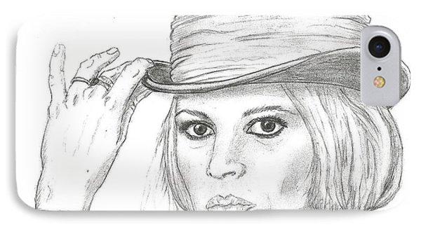 Brigitte Bardot IPhone Case by Steven White