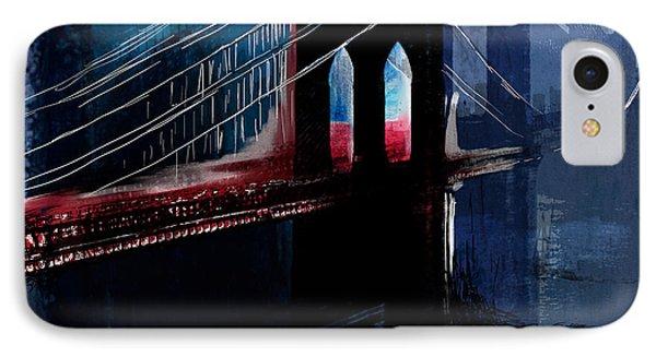 Brooklyn 199 4 IPhone Case by Mawra Tahreem