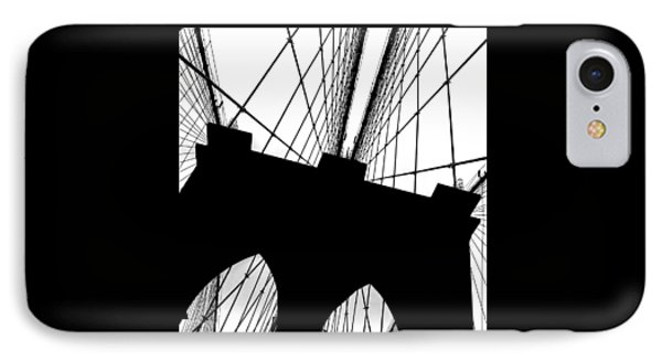 Brooklyn Bridge Architectural View IPhone Case by Az Jackson
