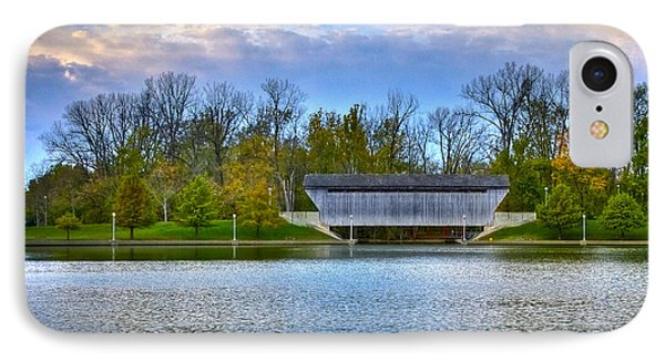 Brownsville Covered Bridge Phone Case by Jack R Perry