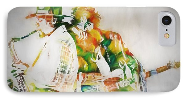 Bruce And The Big Man IPhone Case by Dan Sproul