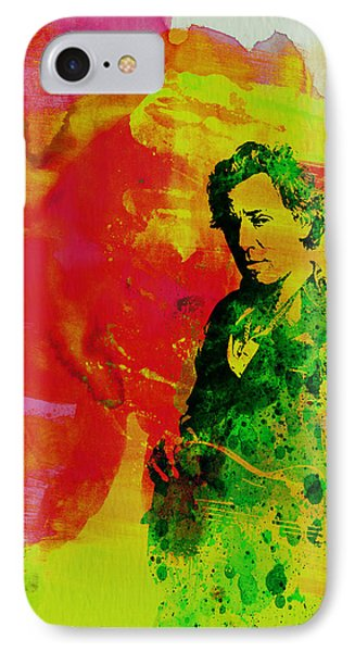Bruce Springsteen IPhone 7 Case by Naxart Studio