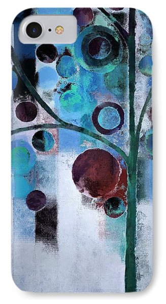Bubble Tree - 055058167-86a7b2 IPhone Case by Variance Collections