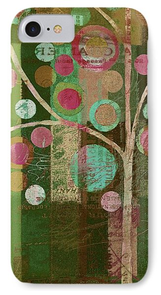 Bubble Tree - 85lc16-j678888 IPhone Case by Variance Collections