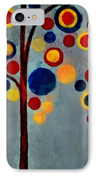 Bubble Tree - Dps02c02f - Right IPhone Case by Variance Collections