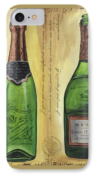 Bubbly Champagne 1 IPhone Case by Debbie DeWitt