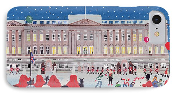 Buckingham Palace IPhone Case by Judy Joel