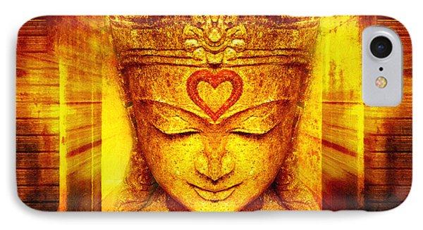 Buddha Entrance IPhone Case by Khalil Houri