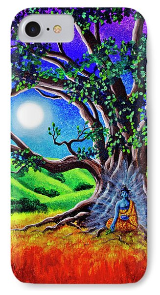 Buddha Healing The Earth IPhone Case by Laura Iverson