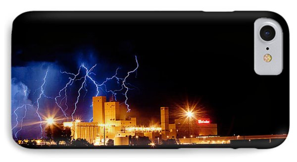 Budweiser Lightning Thunderstorm Moving Out IPhone Case by James BO  Insogna