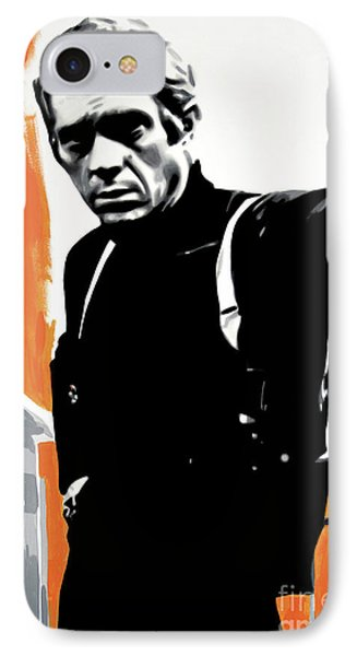 Bullitt IPhone Case by Luis Ludzska