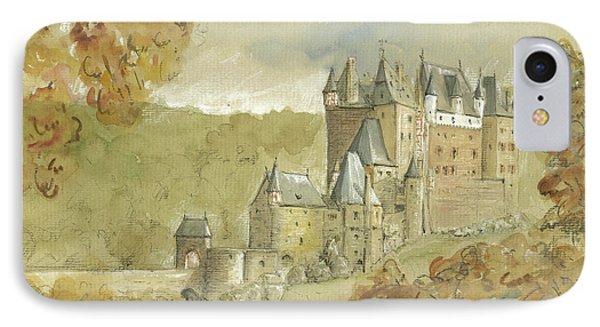 Burg Eltz Castle IPhone 7 Case by Juan Bosco