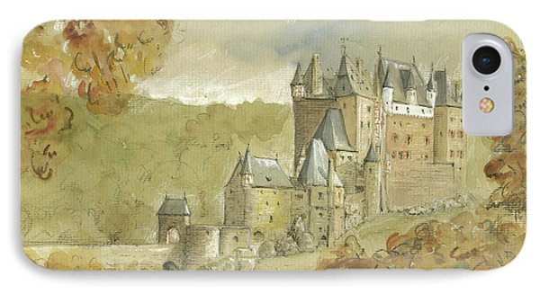 Burg Eltz Castle IPhone Case by Juan Bosco