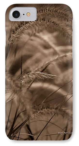 Burgundy Giant Phone Case by DigiArt Diaries by Vicky B Fuller