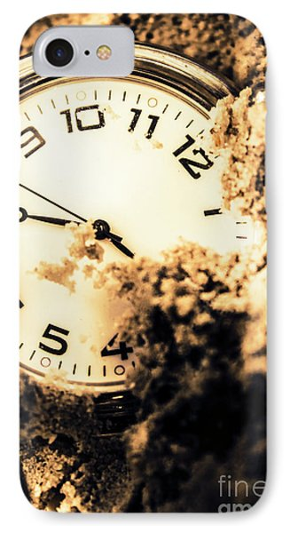 Buried By The Hands Of Time IPhone Case by Jorgo Photography - Wall Art Gallery