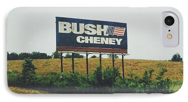 Bush Cheney 2011 IPhone 7 Case by Dylan Murphy