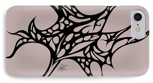 Bushal Of Thorns Phone Case by Jamie Lynn