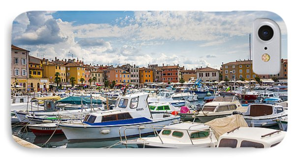 Busy Day On Marina IPhone Case by Svetlana Sewell