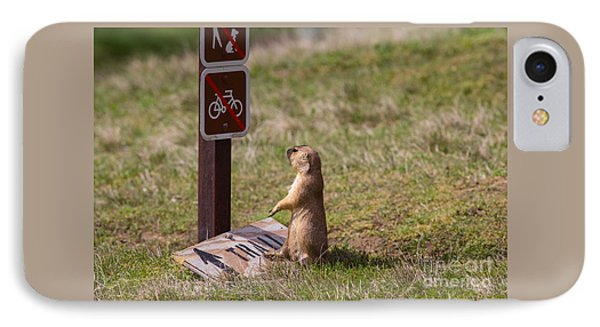 But I Drove 300 Miles To Ride This Trail IPhone Case by Scott Nelson