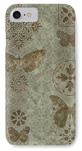 Butterfly Deco 2 IPhone Case by JQ Licensing