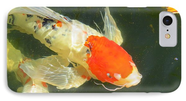 Butterfly Koi IPhone Case by Phyllis Beiser