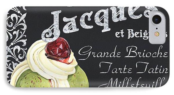 Cafe Jacques IPhone Case by Debbie DeWitt