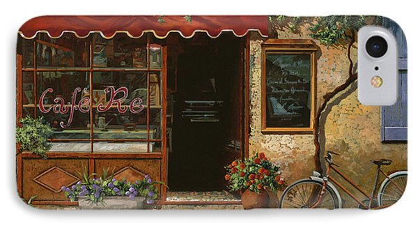 caffe Re IPhone Case by Guido Borelli