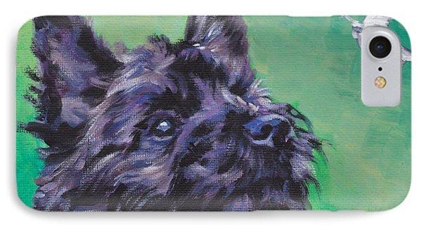 Cairn Terrier IPhone Case by Lee Ann Shepard