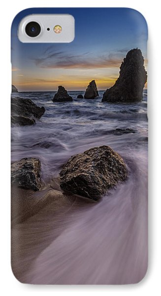 California Sunset On Rodeo Beach IPhone Case by Rick Berk