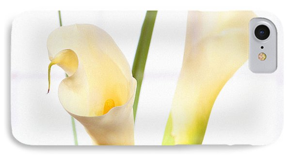 Calla Lily Phone Case by Mike McGlothlen