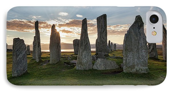 Callanish, Isle Of Lewis IIi IPhone Case by Colin and Linda McKie