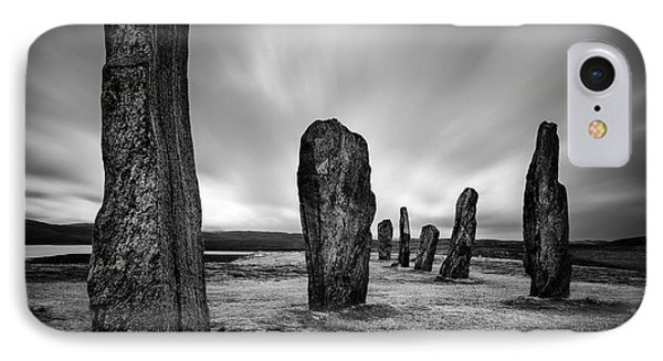 Callanish Stones 2 IPhone Case by Dave Bowman